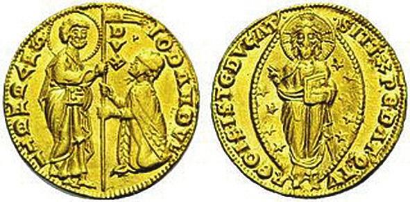2. Первый венецианский дукат, дож Джованни Дандоло (1280–1289)