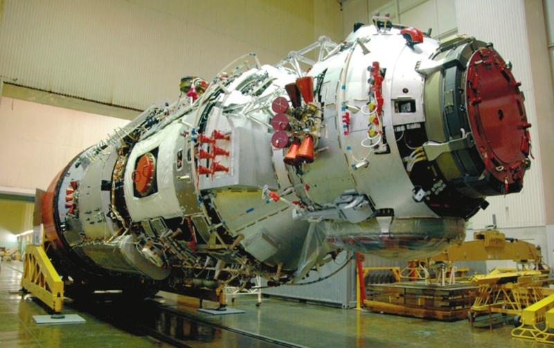 Многоцелевой лабораторный модуль «Наука». Фото с сайта www.energia.ru