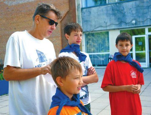 В один из дней МКШ героями дня стали сразу трое ребят