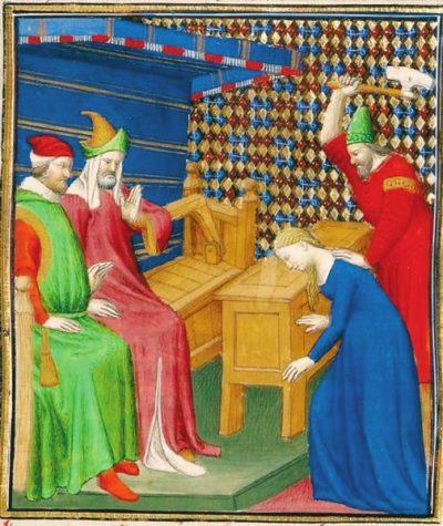 Суд над Вергинией (манускрипт XV века)