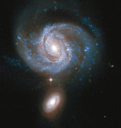 Галактика NGC 7674 (фото NASA / ESA / Hubble Heritage Team)