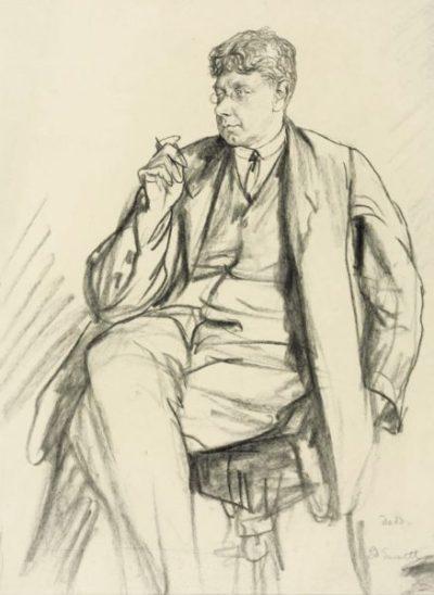 Эдвард Гарнетт. Худ. Фрэнсис Додд (1926, галерея Тейт)
