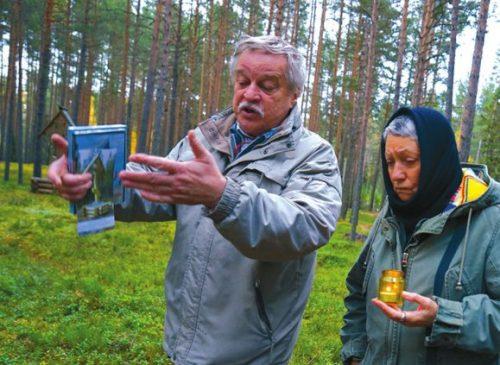 Историк Анатолий Разумов и писатель Людмила Улицкая