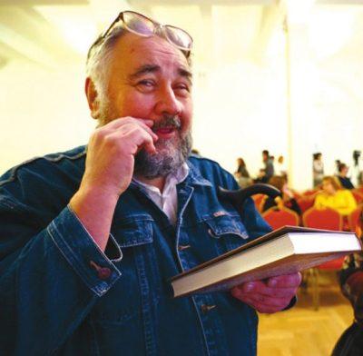 """Биолог Борис Жуков на """"Просветителе"""". Фото Н.Деминой"""