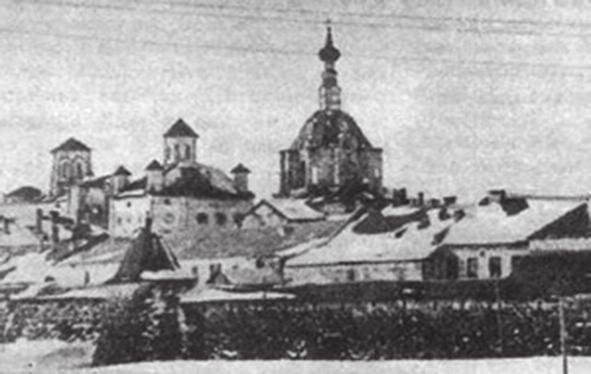 2. Фрагмент почтовой открытки, изданной Управлением Соловецких лагерей особого назначения, 1929 год (solovki.ca)