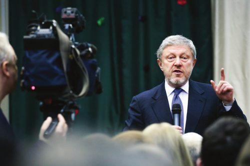 Григорий Явлинский. Фото с сайта yabloko.ru