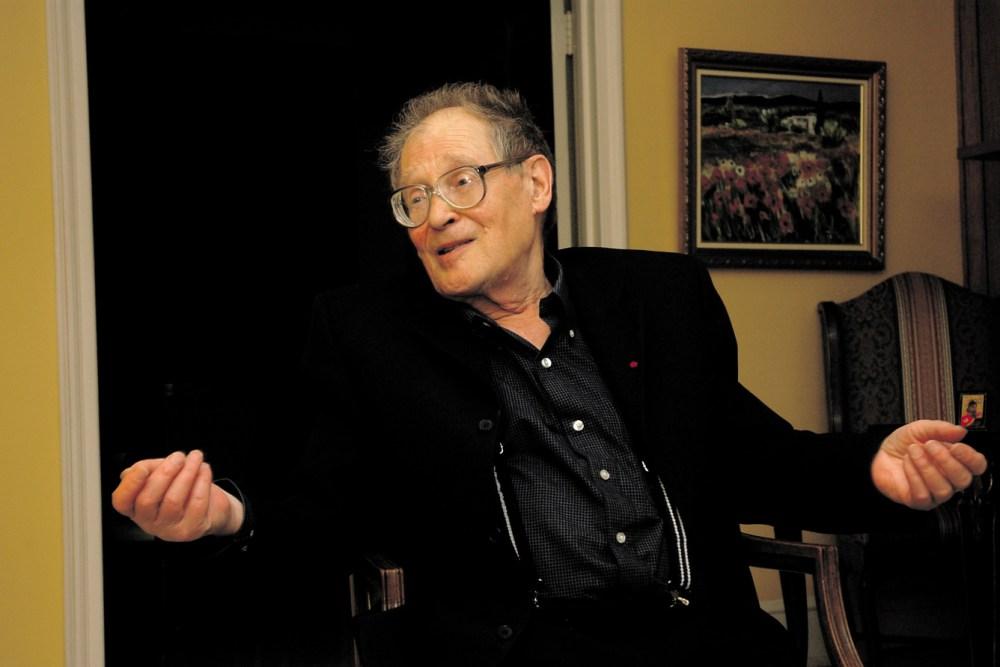 С.А. Ковалёв на квартире Эдварда Клайна. Апрель 2007 года. Фото Ивана Ковалёва