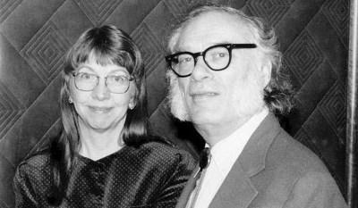Джанет и Айзек Азимовы. 1970-е годы