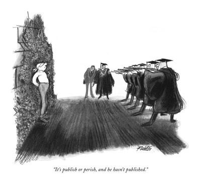 Карикатура Миши Рихтера в журнале New Yorker (1966)