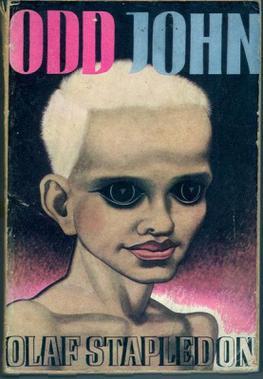 Изображение на обложке романа «Странный Джон» создано самим автором
