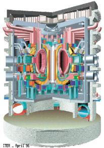 Проект международного термоядерного реактора ITER.