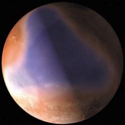 океан в северном Полушарии марса около 3 млрд лет