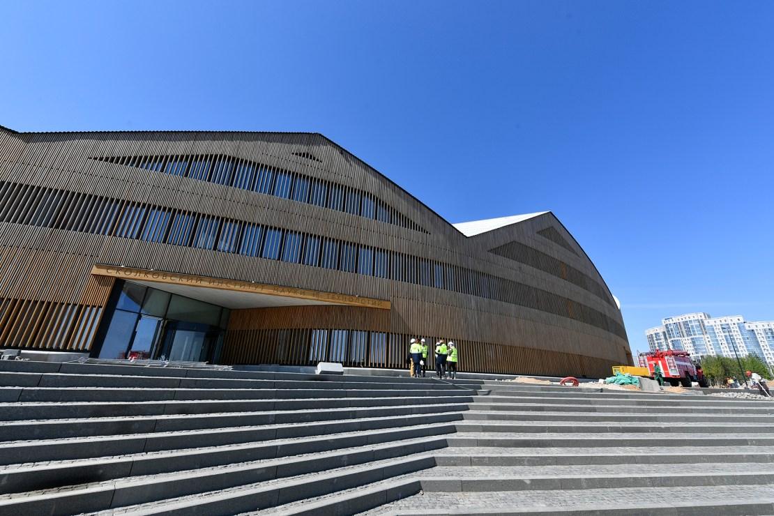 Новый кампус Сколтеха