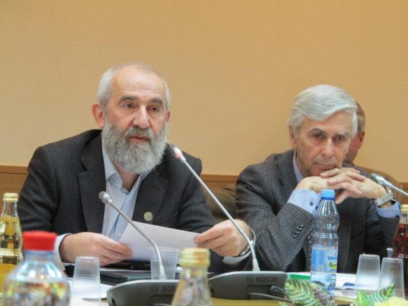 Андрей Цатурян и Михаил Данилов на обсуждении законопроекта
