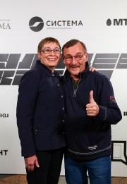 Елена Клещенко с мужем, Андреем Константиновым