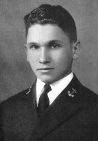"""Джозеф Вебер в униформе Военно-морской академии США (1940 год). Фото из """"Википедии"""""""