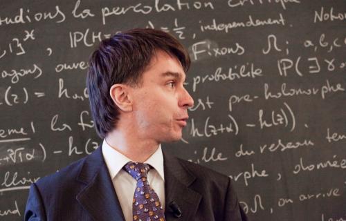 Станислав Смирнов. Фото с сайта www.mat.unb.br