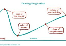 Web developers and Dunning-Kruger syndrome