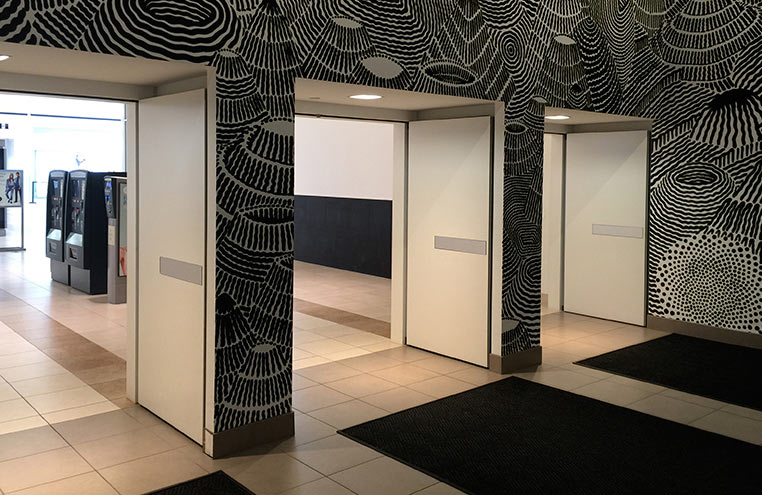Elevator Shafts and Lobby Doors  Movable Wall Systems