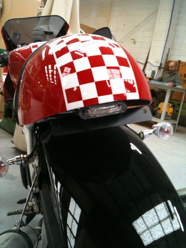 How Much  TRX850 Cafe Racer