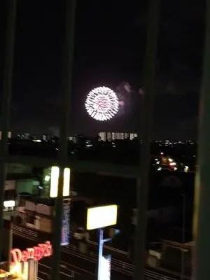 戸田の花火を見に行きました!