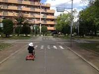 芝児童交通公園で色んな自転車に乗ろう!