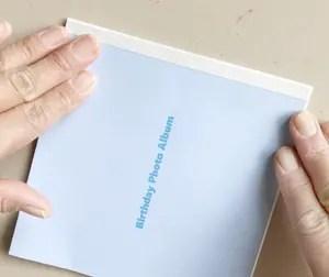 手作り写真アルバムの作り方37