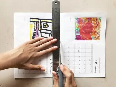 写真でおしゃれに! オリジナル卓上カレンダーを無料テンプレートで作成!!7