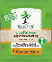 PawPairings Superfood Seasoning Chicken Liver Medley