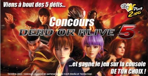 concours dead or alive 5