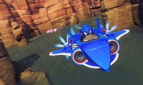 sonic & all stars racing transformed wiiu