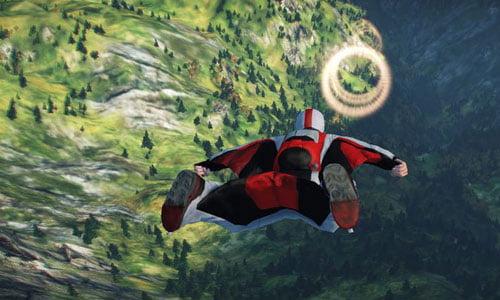 skydive : proximity flight