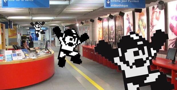 Le jeu vidéo à l'honneur à la Bibliothèque des Scinces et de lIndustrie (photo: MO5.com)