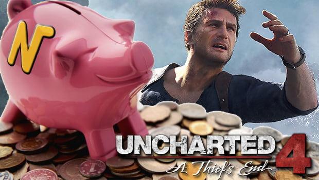 BON PLAN - Jeu A Prix Radin TOP 3: Uncharted 4
