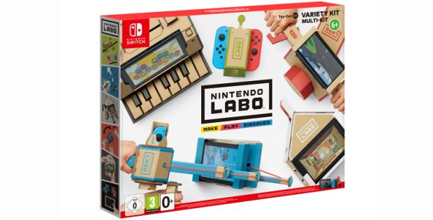 Nintendo Labo : la Switch en mode meccano