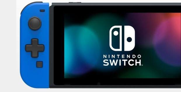 Nintendo Switch : le retour de la croix directionnelle sur le Joy-Con