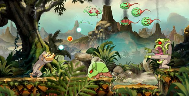 TOKI : le simien déboule sur Nintendo Switch