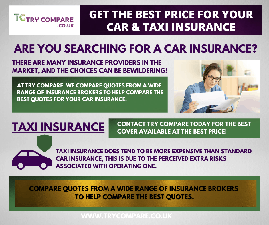 Get the best price for your Taxi Insurance – Try Compare