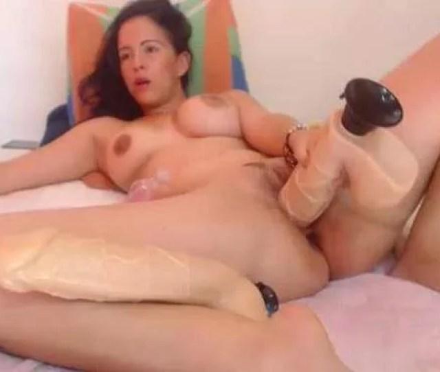 Huge Dildo Insertion Herself Crazy Whoredepraved Girl Deep Toy Fuckperverted Girl With