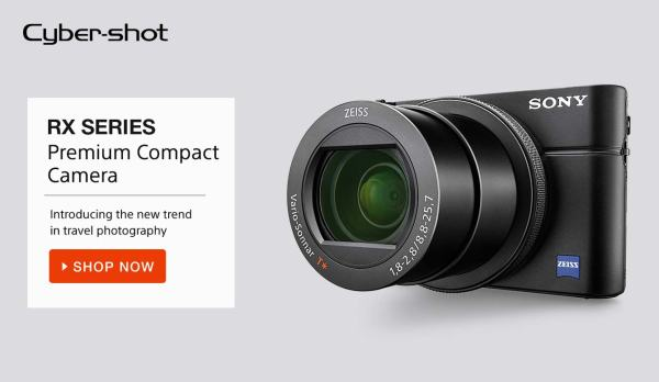 Sony Cyber-Shot-Premium compact camera discount amazon.in