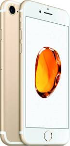 Apple iPhone 7 Gold on Flipkart