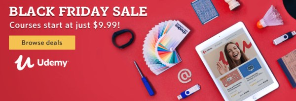 Udemy Black Friday Sale 2018