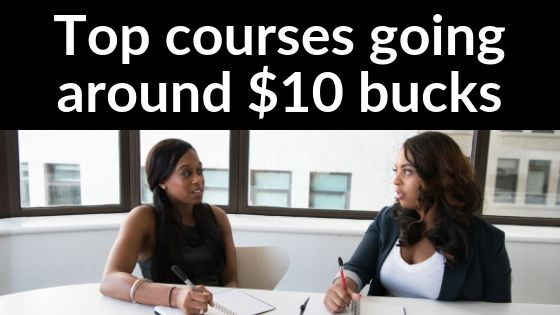 Top Course going at $10 bucks