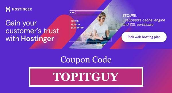 hostinger web hosting coupon code