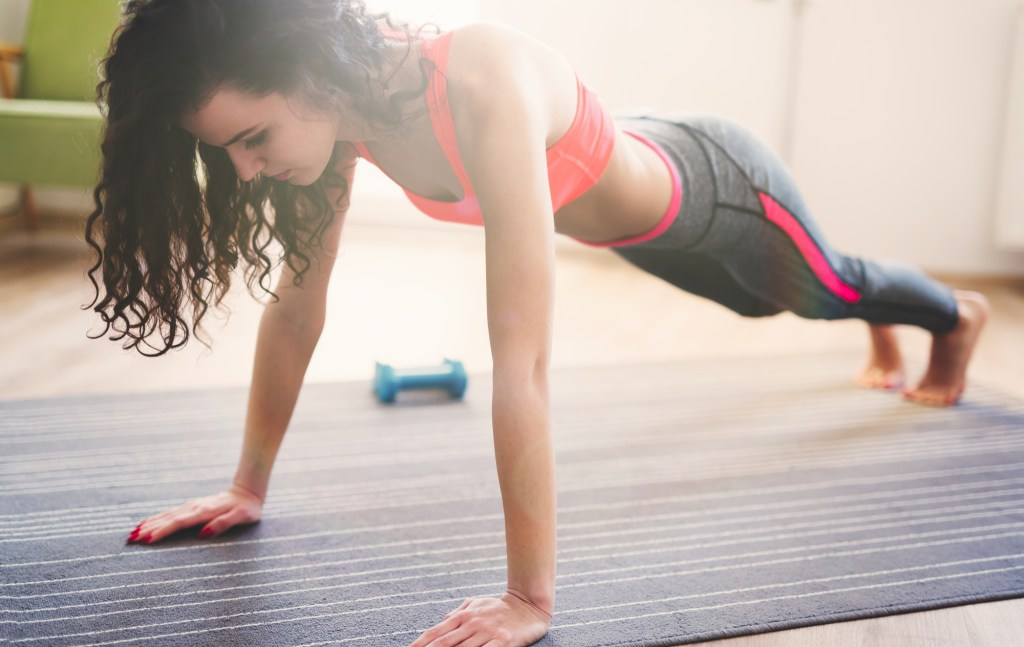 How To Get A Workout Without Leaving Your Home