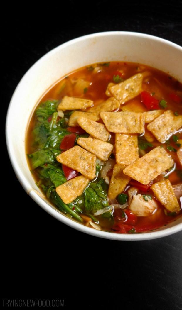 Panera Southwest Chicken Tortilla Bowl