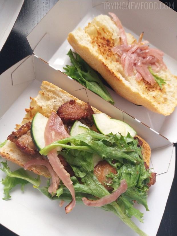 Panera Teriyaki Chicken Sandwich Inside
