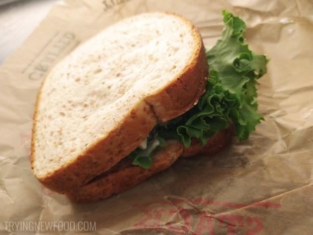 Arby's Pecan Chicken Salad Sandwich