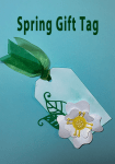 Making a Spring Gift Tag with ScraPerfect