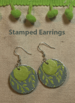 Making Embossed Earrings with Maker's Movement